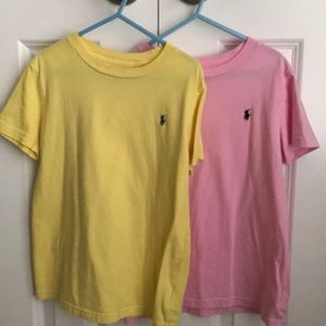 Two Ralph Lauren Shirts